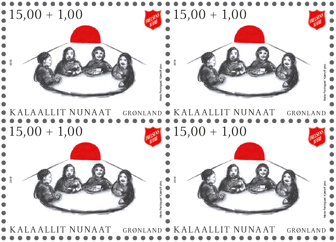 The Salvation Army in Greenland to Benefit from Postage