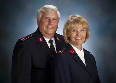 Lt. Colonels Daniel & Rebecca Sjogren