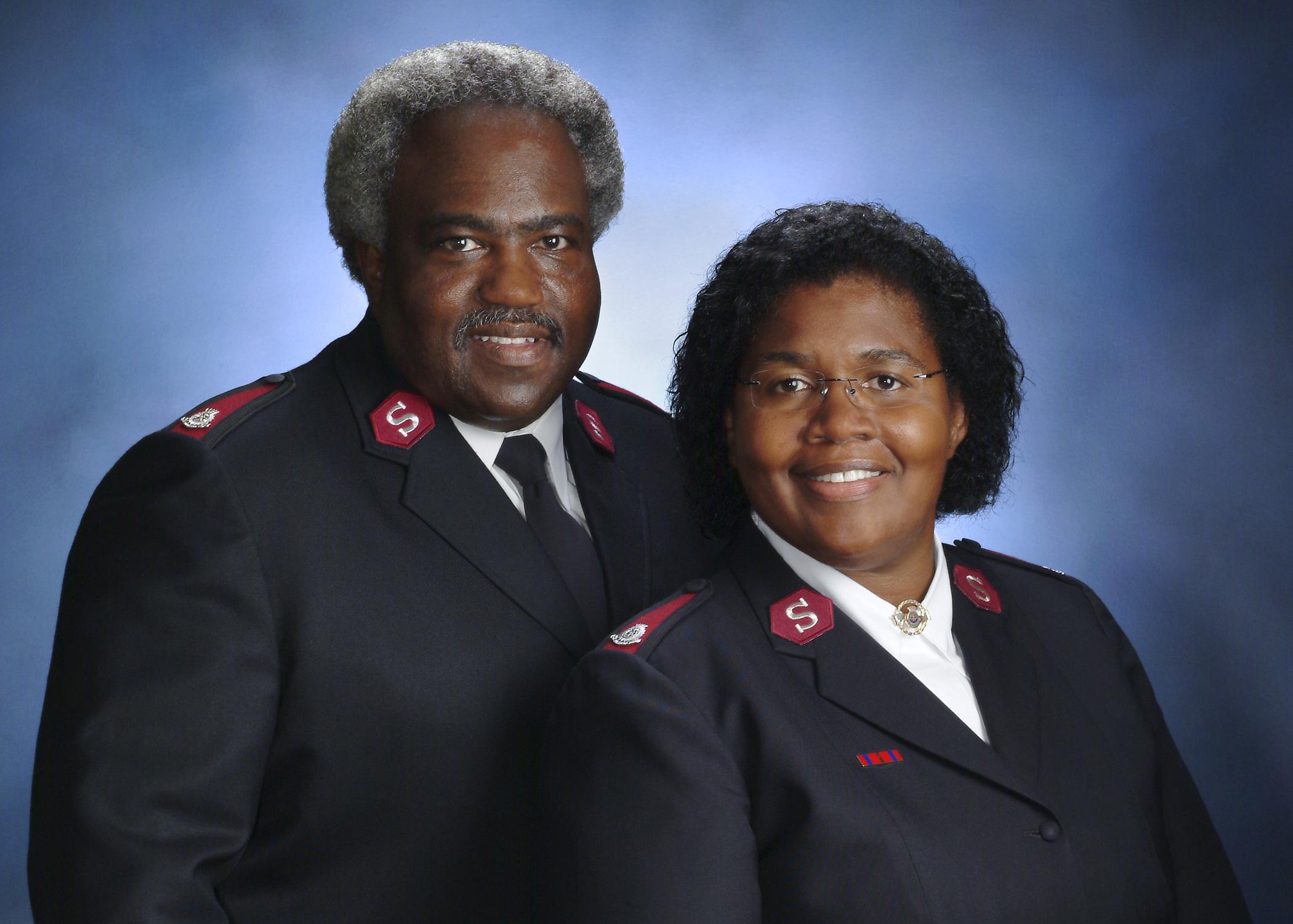 Majors Lonneal & Patty Richardson