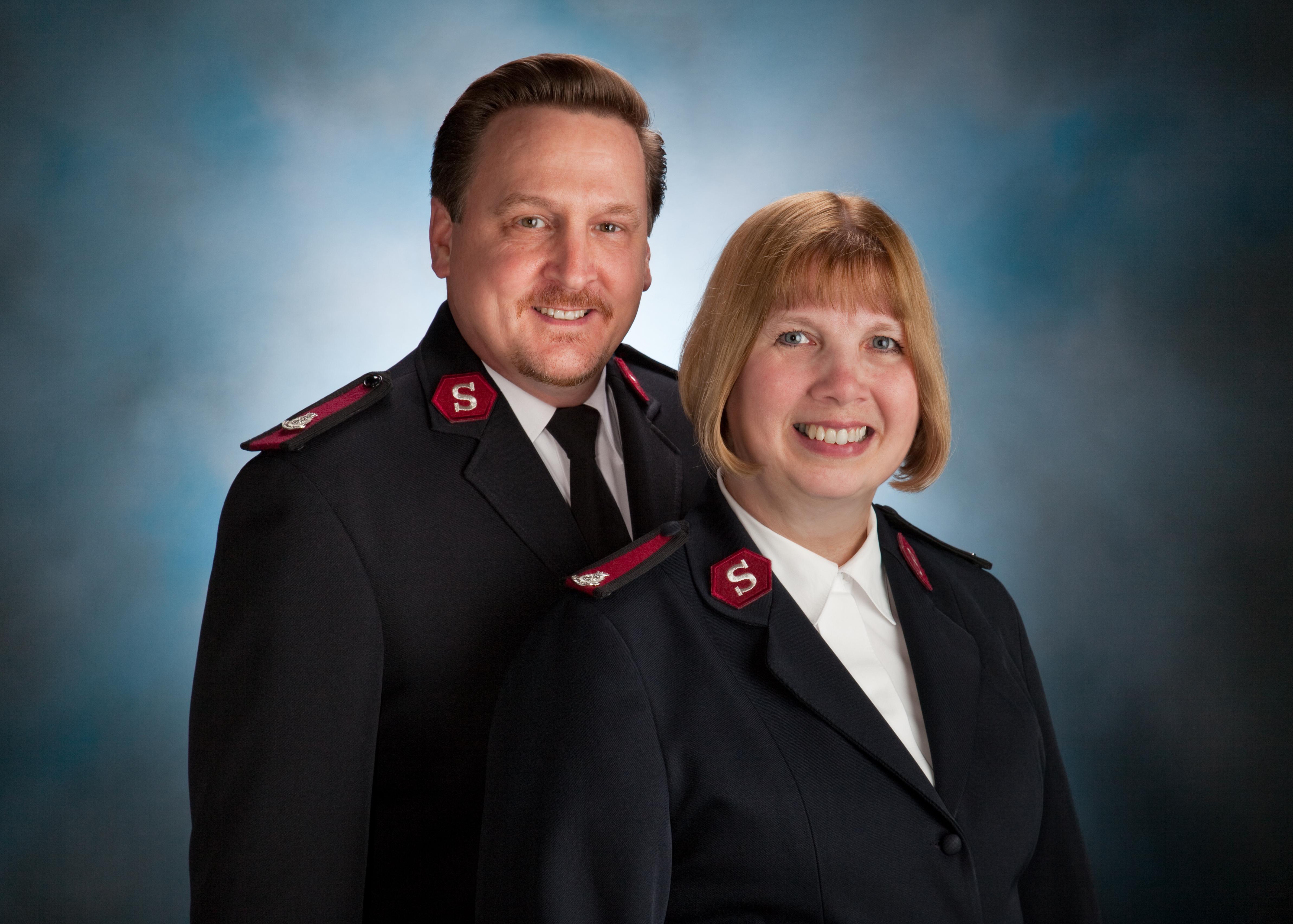 Majors Thomas & Jackie Bowers